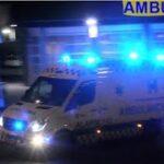 falck HILLERØD AMBULANCE A31 i udrykning rettungsdienst auf Einsatzfahrt 緊急走行 救急車