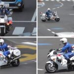 白バイ 2020年 緊急走行シーン総まとめ Police motorcycle Summary of emergency driving scenes 2020ver