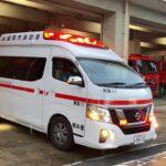 【福岡市消防局】南A11 緊急走行
