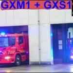 beredskab øst falck ST.GX ABA BEBOELSE brandbil i udrykning Feuerwehr auf Einsatzfahrt 緊急走行 消防車