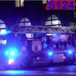 hovedstadens beredskab ST.V BRAND LEJLIGHED brandbil i udrykning Feuerwehr auf Einsatzfahrt 緊急走行 消防車