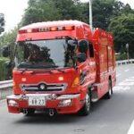 消防車・救急車・パトカー緊急走行!(1)