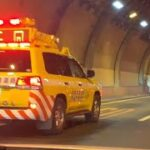 トンネルに響くサイレン 首都高パトロール 緊急走行(5)