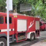 緊急走行で消防署に集まり一斉に出動する指揮車(広報車)達 #9