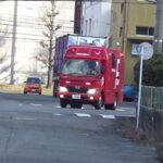 [福岡市消防局] 油漏洩事案 緊急走行