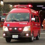 消防車緊急走行【131】堺市消防局 本部指揮隊出場【Japanese fire enjine】