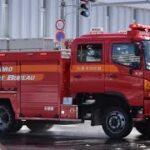 航空隊支援出動!イエルプ警鐘鳴らして緊急走行 2台 Sapporo Fire Bureau (Yelp)