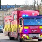 4 X hovedstadens beredskab ST.H BRAND TAG brandbil i udrykning Feuerwehr auf Einsatzfahrt 緊急走行 消防車