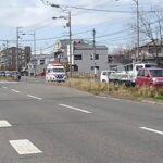 徳島市消防局西消防署救急車緊急走行
