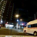 【緊走】 サイレン切替へ交差点進入 東消 ハイメディック 緊急走行 救急車 東京消防庁