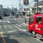 大阪市消防局(消防車)緊急走行を、妨害しようとする西濃運輸