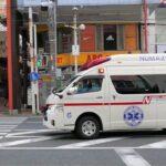 【救急車】沼津駅方面へ緊急走行する駿東伊豆消防本部の救急車