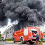 市内の大火