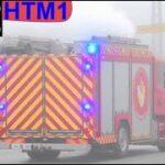 beredskab 4k falck ST.HT ABA BEBOELSE brandbil i udrykning Feuerwehr auf Einsatzfahrt 緊急走行 消防車