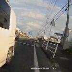 究極のあおり運転が日本で現れた!運転手は女!!!悪質すぎる