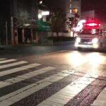 救急車の緊急走行シーン