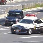 あわや事故寸前!違反を繰り返す悪質ドライバーを所轄パトカーが猛追!【警視庁交通取締り】