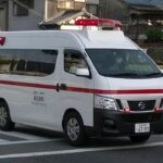 消防車緊急走行【145】高石病院救急車【Japanese fire enjine】