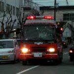 消防車緊急走行【152】堺市消防局・堺区塵埃火災【Japanese fire enjine】