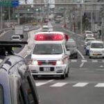消防車緊急走行【154】旧・西和消防組合 救急車【Japanese fire enjine】
