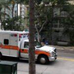 【緊走】 救急車 EMS PARAMEDIC UNIT ホノルル ハワイ 緊急走行 Honolulu hawaii Ford ambulance