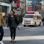 歩行者天国の中を緊急走行する東京消防庁の救急車!救急車緊急出動🚨 Japanese ambulance emergency respond in Tokyo