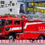 《引退車両紹介》東京消防庁ハイパーレスキュー救助工作車Ⅲ型