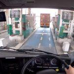大手運送会社の 大型トレーラー指導員の運転技術はこんな感じです