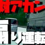 大型トラックが乗用車に【煽り運転】同業者として一刀両断!