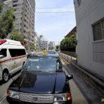 救急搬送の救急車が病着 2021年6月10日