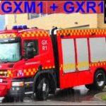 beredskab øst falck ST.GX TRAFIK ULYKKE brandbil i udrykning Feuerwehr auf Einsatzfahrt 緊急走行 消防車