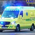 responce EJBY AMBULANCE 3531 i udrykning rettungsdienst auf Einsatzfahrt 緊急走行 救急車