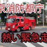 東京消防庁の熱い緊急走行、そして埼玉西部消防の応援