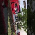 徳島市消防局西消防署西1号西2号西水槽車出場シーン