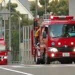 消防車緊急走行【169】大阪市消防局 阿倍野消防署・緊急走行【Japanese fire enjine】