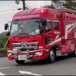 豊岡3(救助工作車) 堂々の赤信号交差点進入!他        豊岡市消防本部 緊急走行集