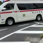 【岡山市消防局】緊急走行 西消防署3代目ハイメディック後期型救急車