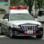 パトカー緊急走行【62】大阪府警・堺警察署 堺東駅前にて現行犯逮捕【Japanese Police car】