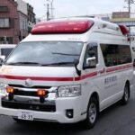 【救急車】緊急走行する横浜市消防局のハイメディックの救急車
