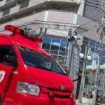 緊急走行する東京消防庁指揮隊車