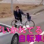 「日本の交通事故と煽り運転」  頭がいかれてる自転車に乗り
