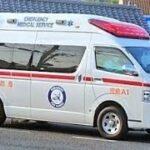 トヨタ ハイメディック救急車 緊急走行
