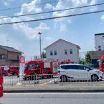 【緊急走行】緊急出動するが帰っていく消防車たち