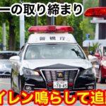 【サイレン鳴らして追跡!】警視庁 所轄パトカーの取り締まり
