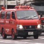 消防車緊急走行【180】堺市高石市消防組合 本部・警防方面隊【Japanese fire enjine】