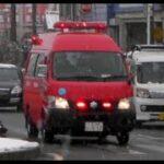 消防車緊急走行【196】堺市消防局 本部・調査車【Japanese fire enjine】