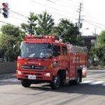 警戒出場!札幌市消防局桑園2 水槽車緊急走行 Sapporo Fire Bureau Pump Responding
