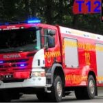 midtjysk brand & redning SILKEBORG ABA PLEJEHJEM brandbil i udrykning fire truck respond 緊急走行 消防車