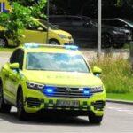 region midtjylland SILKEBORG LÆGEBIL 9380 læge ambulance i udrykning notarzt einsatzfahrt 緊急走行 救急車