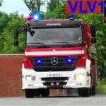 trekantsområdets brandvæsen ST.VL TRAFIK FASTKLEMTE brandbil i udrykning fire truck respond 緊急走行 消防車